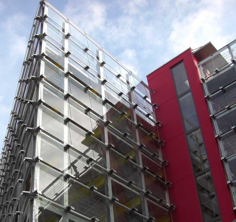 Parkhaus Roter Turm Chemnitz